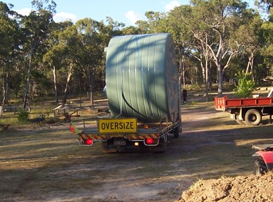 OH Water Tank arrive